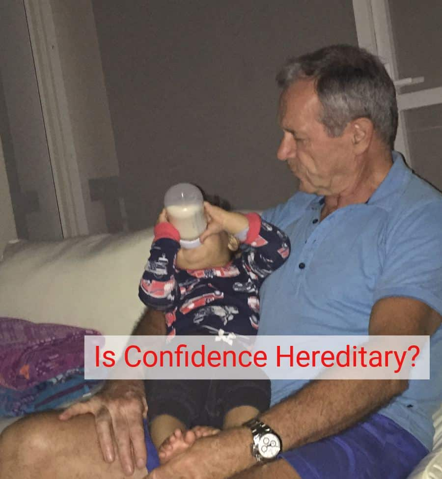 is confidence hereditary