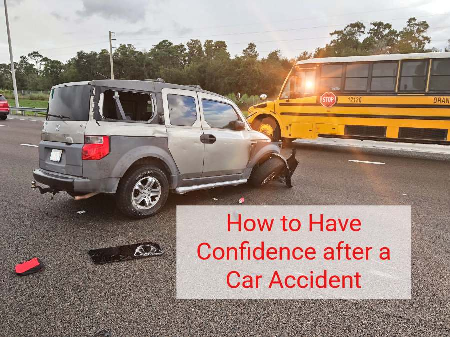 how to regain confidence after a car accident