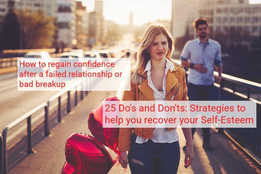 25 ways to regain confidence after a bad relationship breakup failure