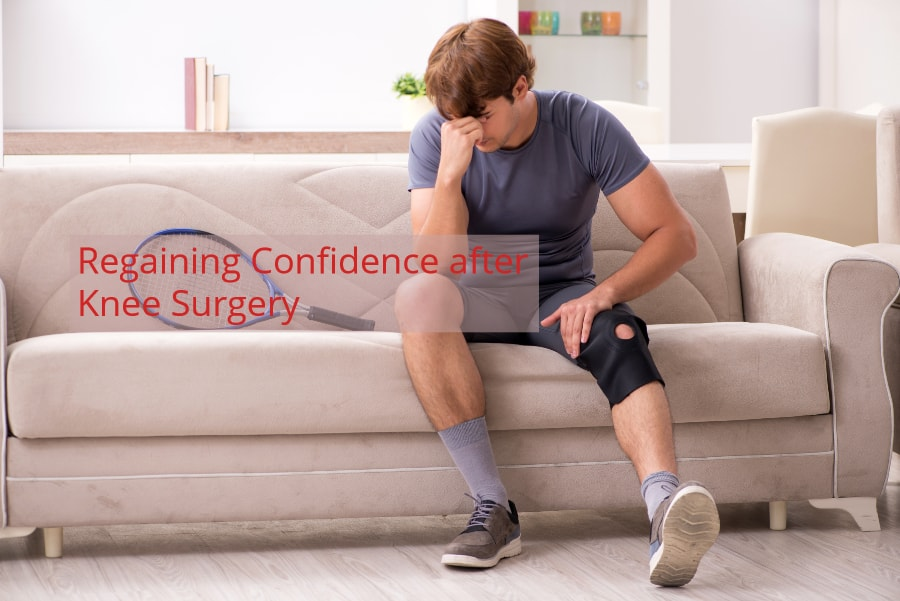 regaining confidence after knee surgery ACL Arthroscopy Knee Replacement