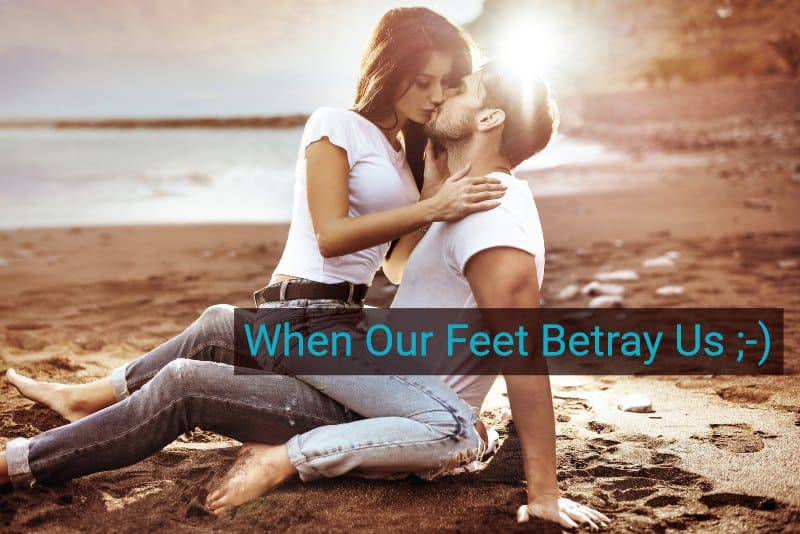 Warning! Don't Miss These Signs of Attraction from Our Feet